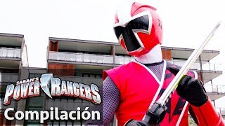 Power Rangers en Español | Power Rangers Salva el día | Power Rangers Super-héroes