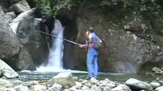 rize yiğitler köyü alabalık avı 3 Yaşar Kabil