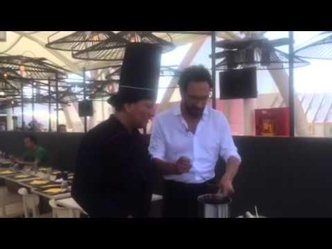 Entrevista RAI Television Italiana a Fernando Barrales chef del Restaurante La Noria en Expo Milano