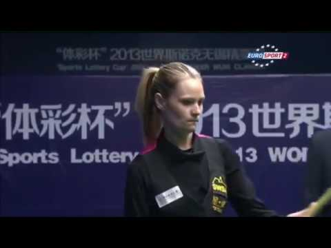 Times Women World Snooker Champion   Reanne Evans vs Zhu Yinghui Wuxi Classic HD Full Video   YouT