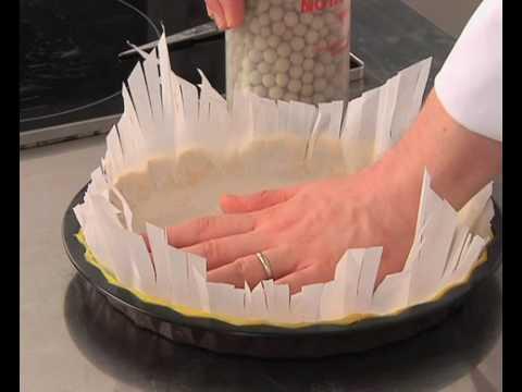 technique-de-cuisine-:-cuire-à-blanc-un-fond-de-tarte