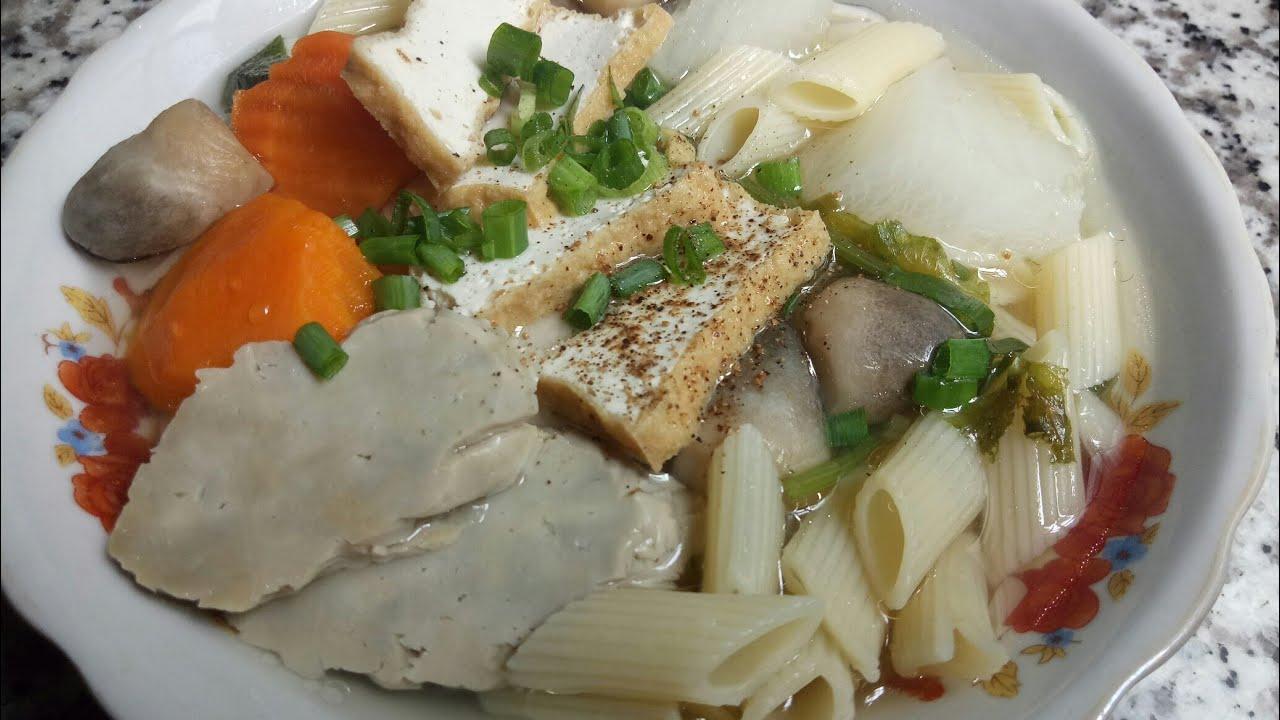 NUI CHAY – cách làm SÚP NUI CHAY đơn giản thanh đạm – Món Ăn Ngon Mỗi Ngày