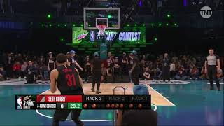 Seth Curry Three-Point Contest First Round | 2019 NBA All-Star