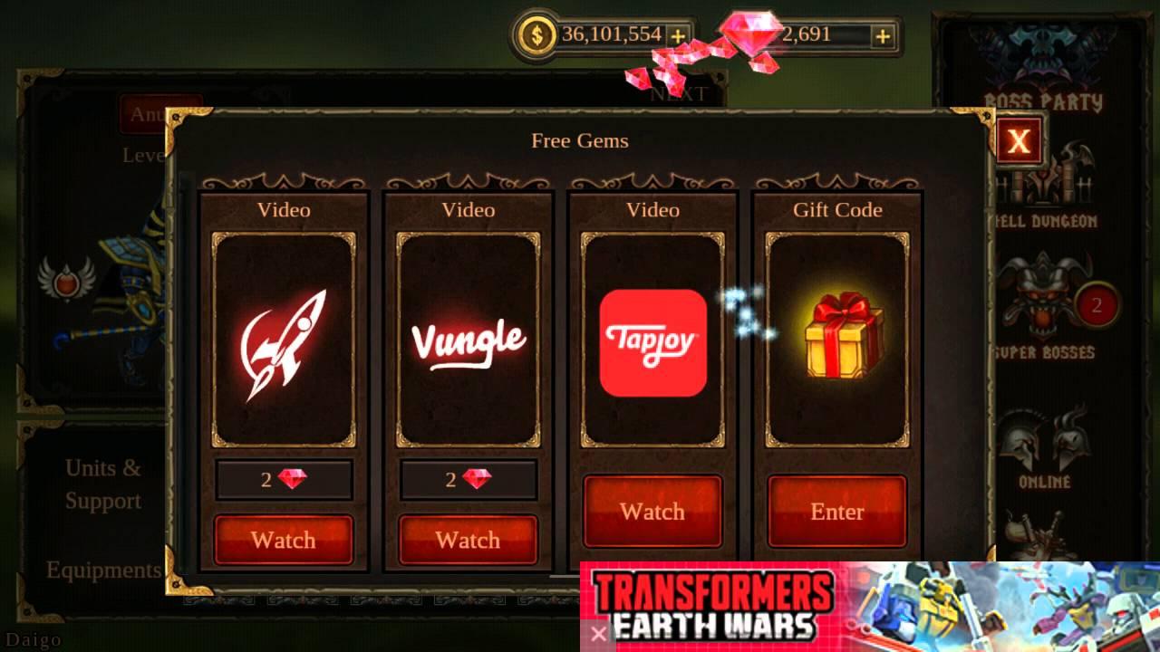 Epic Heroes War Gift Code February 21st 2016