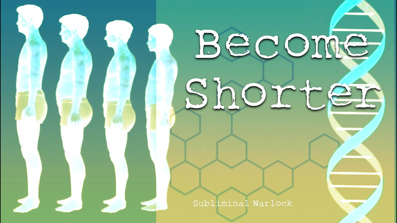 Get Shorter Height Reduction Subliminals Frequencies Hypnosis Rife Potion