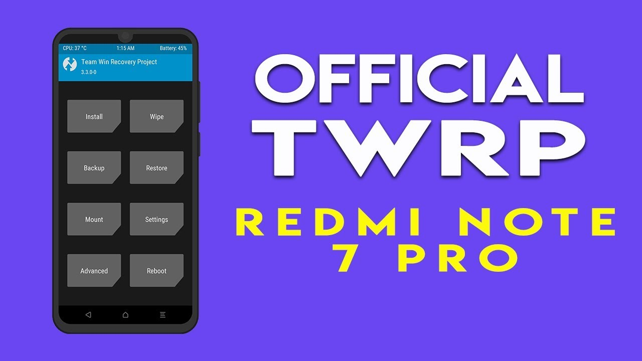 twrp redmi note 7