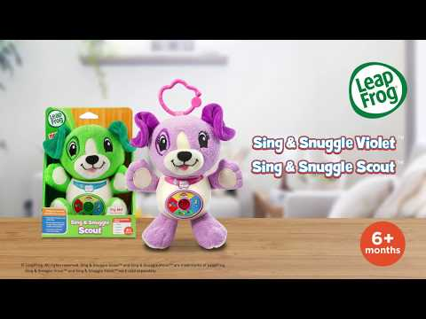 Sing & Snuggle Scout and Violet | Demo Video | LeapFrog