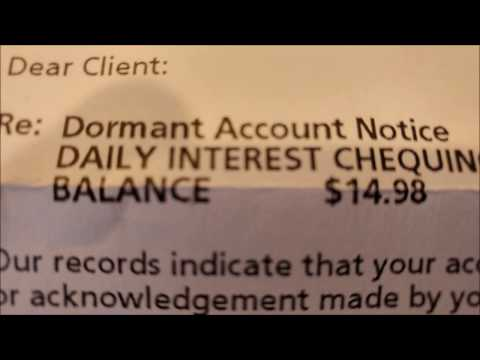 Banks Syphoning Dormant Bank Accounts With Fees