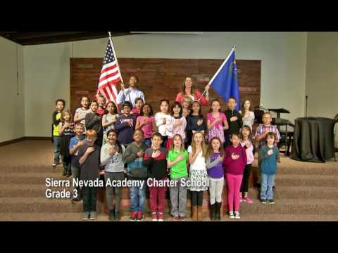 One Nevada Morning Pledge - Sierra Nevada Academy Charter School Grade 3