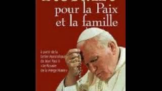 Rosaire avec Jean-Paul 2