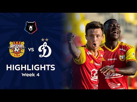 Arsenal Tula Dinamo Moscow Goals And Highlights
