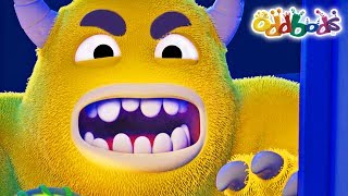 Oddbods | Candy Monsters | Halloween Special | Funny Cartoons For Kids