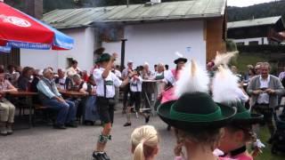 Schuhplattler Jugendgruppe Königsee Berchtesgaden 2015
