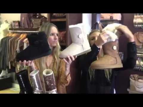 Kelley Cawley Boutique Fashion Vlog- UGG Australia Spotlight. October 11, 2012