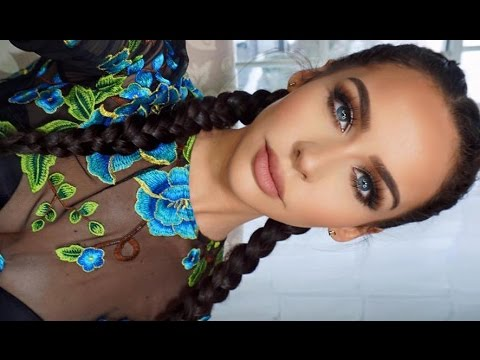 How To: Dutch/French Braid Your Own Hair   Carli Bybel