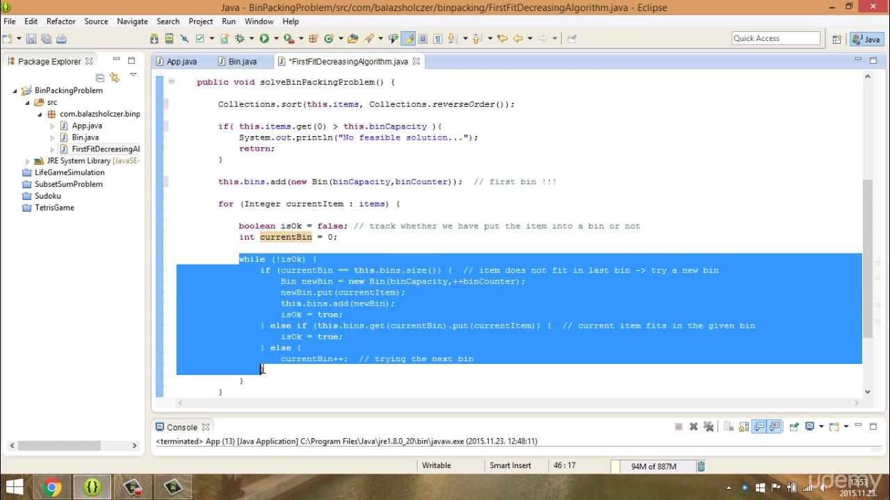 chap5 _ 2 Bin packing problem implementation