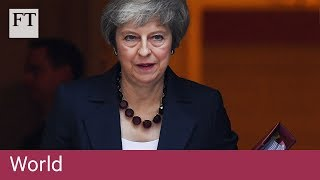 UK cabinet agrees to back Brexit treaty