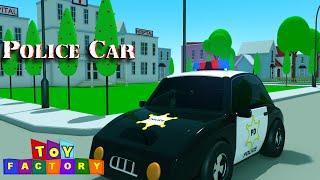 police cars for children | Cars for kids | police car cartoons for children