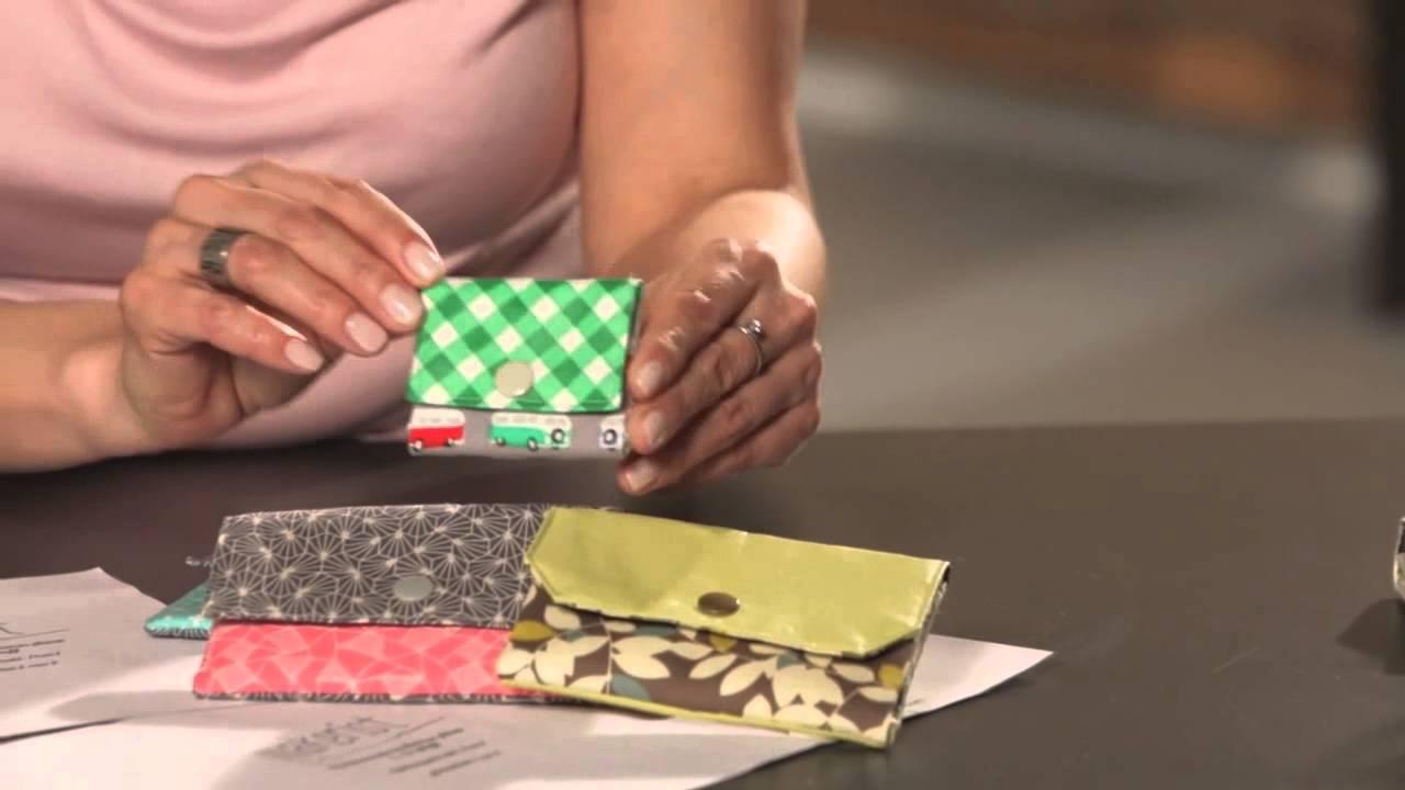 Trailer: Dein erstes Portemonnaie selber nähen - YouTube