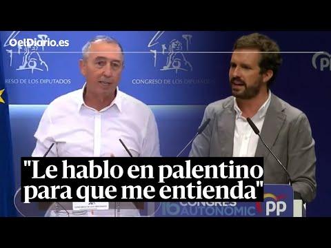 """Baldoví, a Casado, tras decir que en Baleares no se habla catalán: """"Le hablo en palentino"""""""