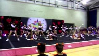 Southampton Solent University Ravens Cheer and Dance 2012
