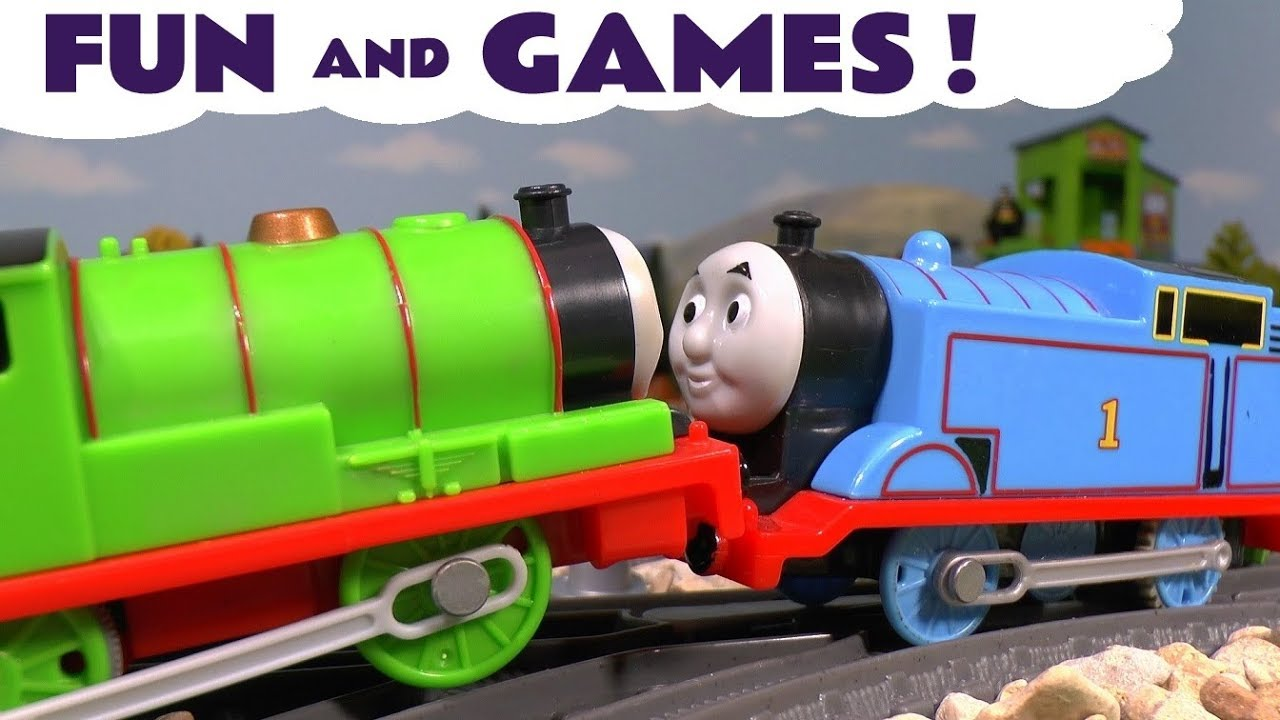 Best Disney Toys And Games For Kids : Thomas and friends fun games with disney cars toys