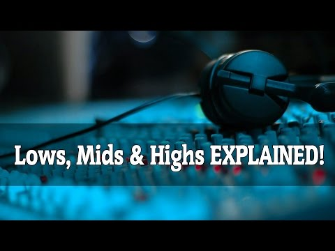 Lows, Mids & Highs in Music Explained in Less Than 3 Minutes!