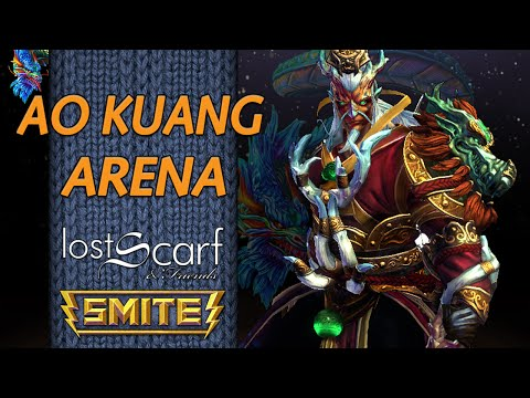 ScarfPlays Smite 559 - Double Dragons - Ao Kuang Arena