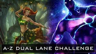 Dota 2 A-Z Dual Lane Challenge - Enchantress and Enigma