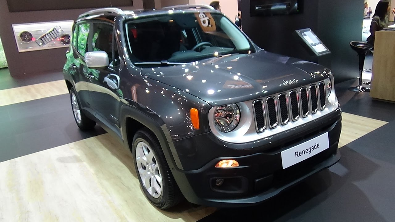 2017 Jeep Renegade Limited 1 6 Multijet Ii Exterior And Interior Automobile Barcelona