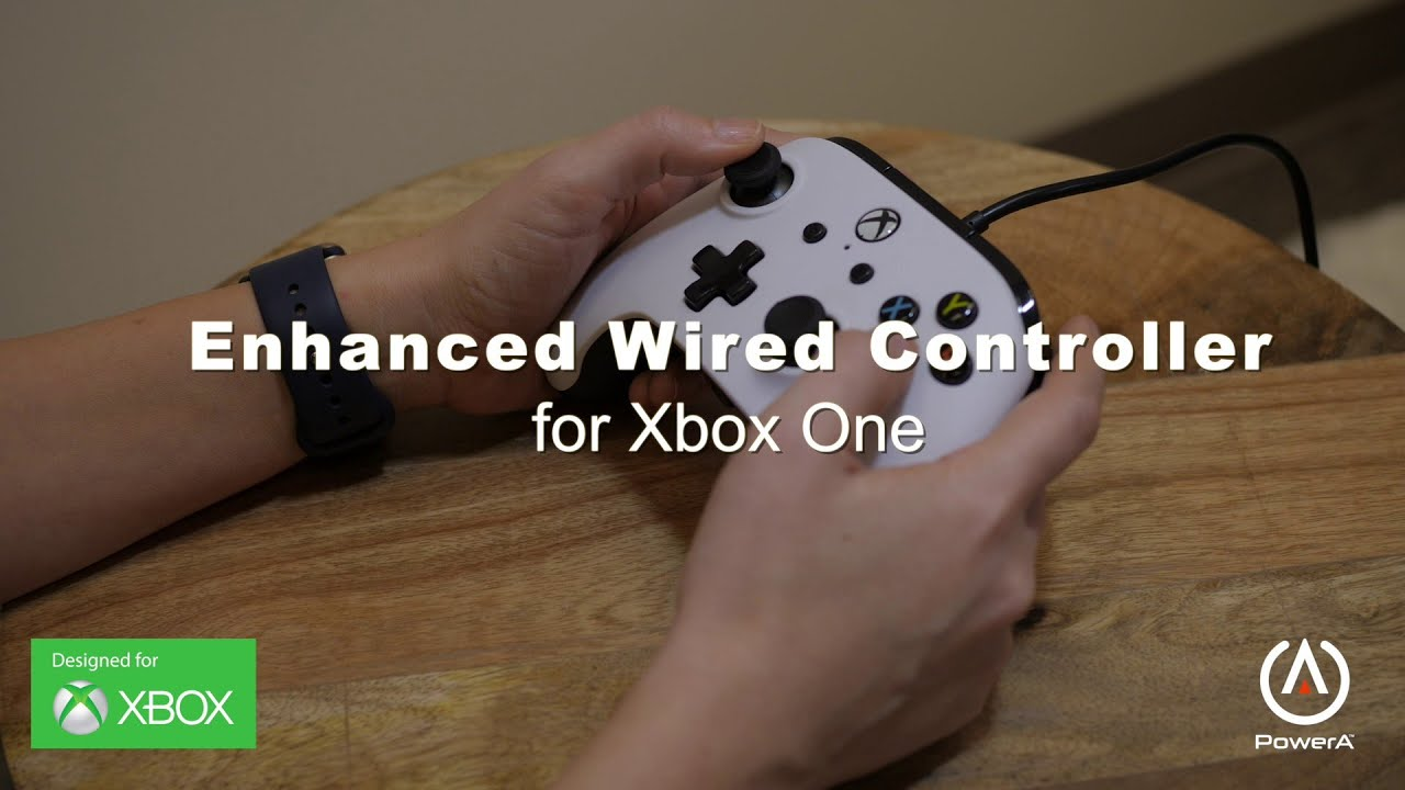 PowerA Enhanced Wired Controller for Xbox One: Overview - YouTube