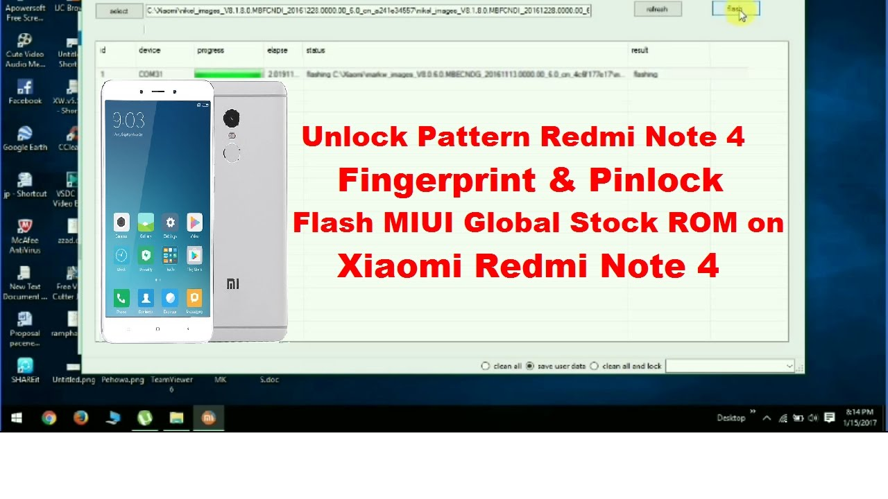 Xiaomi Redmi Note 4 Stock Wallpapers Download Now: Unlock Pattern Redmi Note 4/ Flash MIUI Global Rom On
