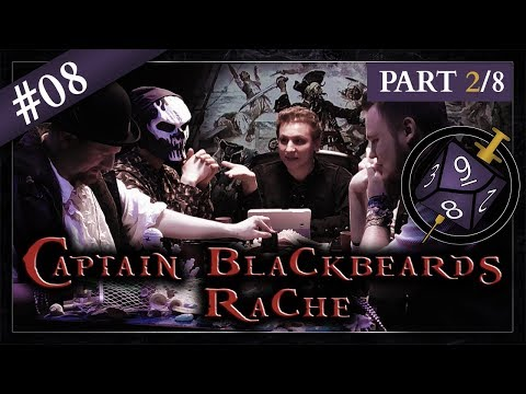 [2/8] Captain Blackbeards Rache (feat. Ben&Paper) | StoryNight #08 - Pen&Paper auf Steroiden