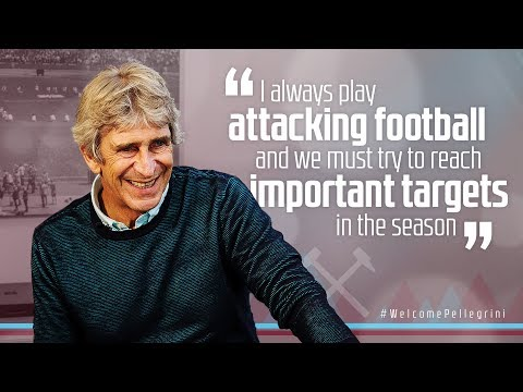 PELLEGRINI: I THINK MY FOOTBALL WILL DELIGHT THE FANS