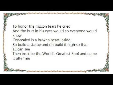Ferlin Husky - Statue of a Fool Lyrics