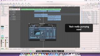 Logic Pro 9 Tutorial - Creating a progression & melody (The easy way)