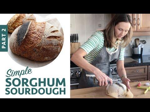 Simple Sorghum Sourdough Part 2 (Gluten-Free Vegan Bread)