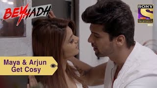 Your Favorite Character | Maya & Arjun Get Cosy In The Office | Beyhadh