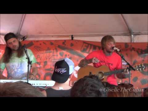 Chiodos - Full Acoustic Set (Live at Warped Tour)