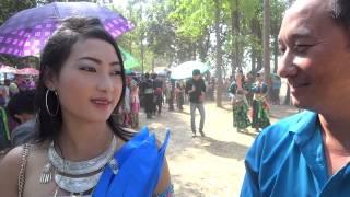 HMONG NEW YEAR IN LAOS 2013-2014: BEAUTIFUL HMONG GIRL IN LAOS