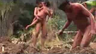 Children Buried Alive in the Amazon (indigenous nudity) Message is mroe important