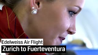 Edelweiss Air Airbus A320 Zurich - Fuerteventura and back (Cockpit)