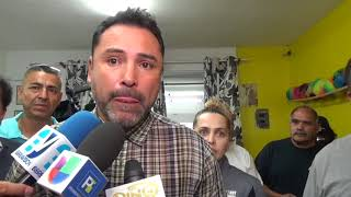 Oscar De La Hoya: I'm optimistic that Canelo-GGG 2 and other big fights will happen in 2018