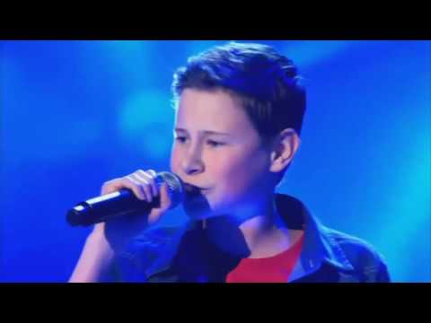 Battle  Grenade   Bruno Mars   The Voice Kids 2014 Belgium #bruno #mars