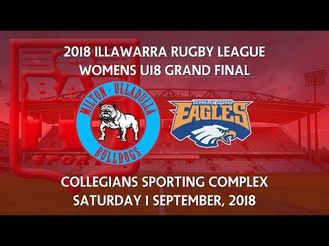 2018 Illawarra RL Women's U18's Grand Final -  Milton Ulladulla Bulldogs v Berkeley Eagles