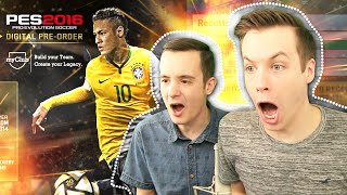 OMG OUR FIRST EVER GAME!!! - PES 2016