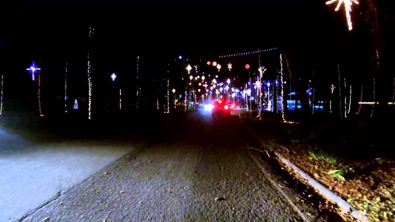 Christmas Lights - Girvin Rd - YouTube