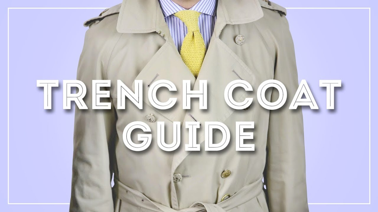 d4735cfeee Trench Coat Guide - How To Wear & Buy A Burberry or Aquascutum Trenchcoat
