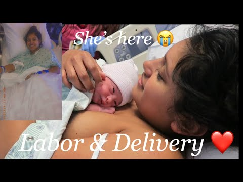MY LABOR & DELIVERY ❤️ **Raw footage**