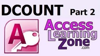 Use DCOUNT in Microsoft Access to Count Records, Part 2 of 2